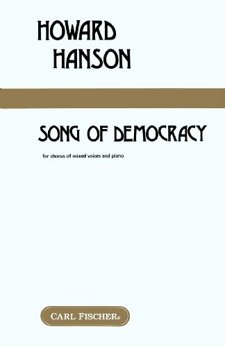 9780825805004: Howard Hanson - Song of Democracy