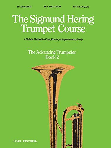 9780825805578: The Sigmund Hering Trumpet Course vol.2 : The Advancing Trumpeter (dt/en/fr)