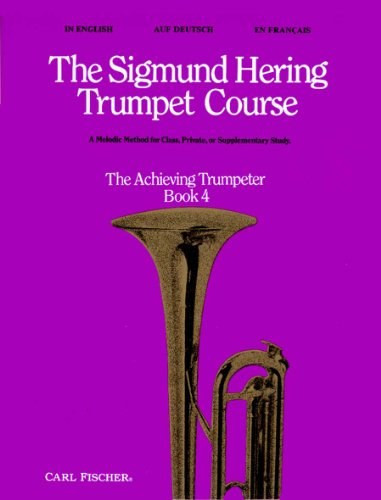 9780825805592: O5139 - The Sigmund Hering Trumpet Course, Book 4