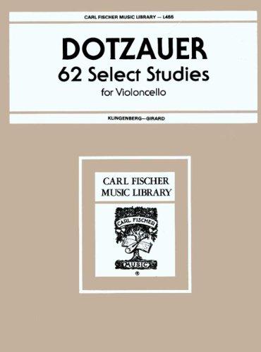 9780825806797: L455 - 62 Select Studies for Violoncello Book 1 - Dotzauer