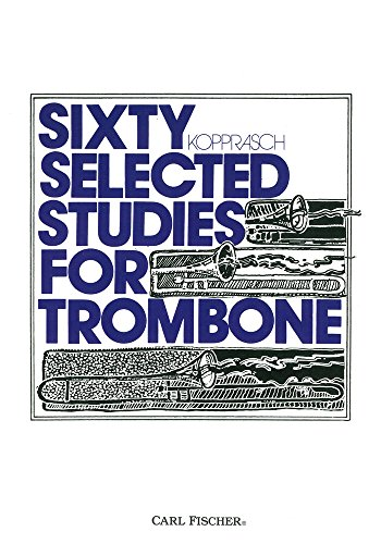 9780825808012: O2895 - Sixty Selected Studies for Trombone, Book 1