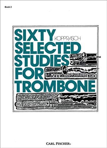 O2615 - Sixty Selected Studies for Trombone,: Kopprasch