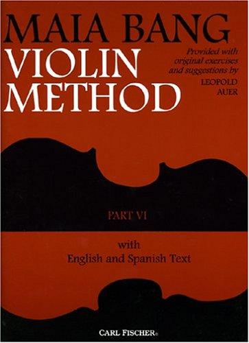9780825808852: O47 - Maia Bang Violin Method Part VI