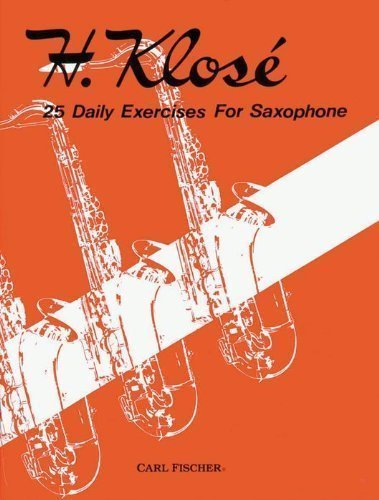 9780825809064: O1718 - 25 Daily Exercises for Saxophone
