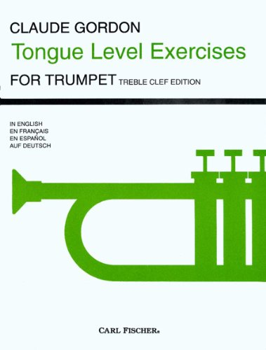 9780825809484: O5089 - Tongue Level Exercises - Trumpet (German Edition)