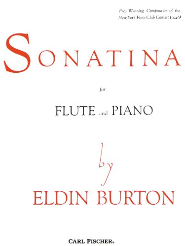 9780825810336: Sonatina for Flute and Piano