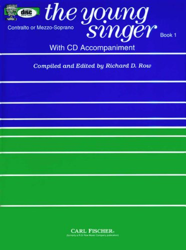 9780825810916: RB82 - The Young Singer: Contralto or Mezzo-Sporano (Book1 & CD)