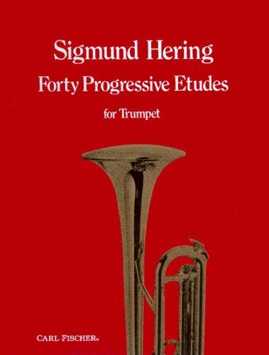 9780825811562: Forty Progressive Etudes For Trumpet