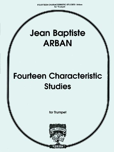 9780825820281: Fourteen Characteristic Studies for Trumpet or Cornet