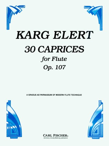 9780825820434: CU176 - 3 Caprices for Flute