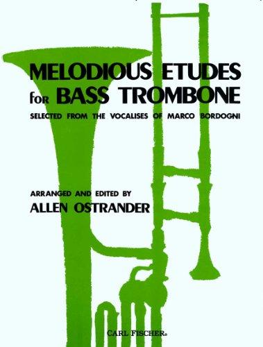 9780825820717: Bordogni: Melodious Etudes for Bass Trombone, arr. Ostrander