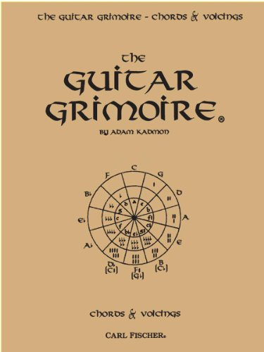 9780825821721: The Guitar Grimoire: A Compendium of Guitar Chords and Voicings