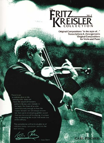 9780825821783: The Fritz Kreisler Collection, Vol. 2