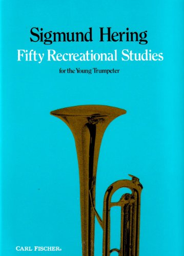 9780825822001: O4745 - Fifty Recreational Studies for the Young Trumpeter