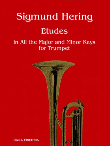 9780825822353: Sigmund Hering Etudes in All the Major and Minor Keys for Trumpet