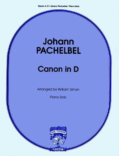 9780825824005: Canon in d Piano