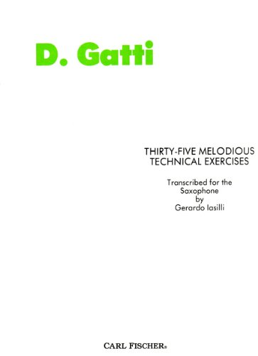 9780825824197: O1263 - Thirty-Five Melodious Technical Exercises: Saxophone