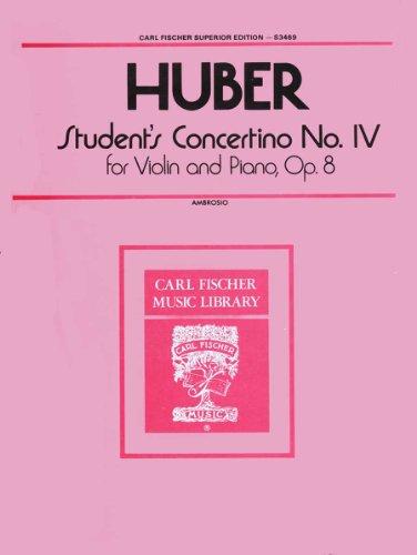 9780825824227: Students Concertino No. IV