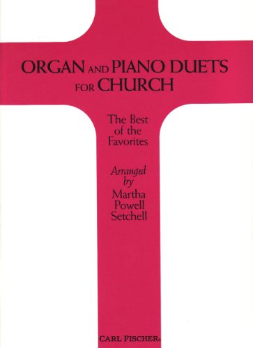 9780825824487: Organ and Piano Duets for Church
