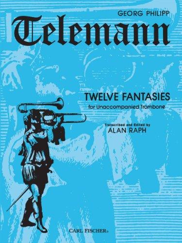 9780825826016: Twelve Fantasies - for Unaccompanied Trombone