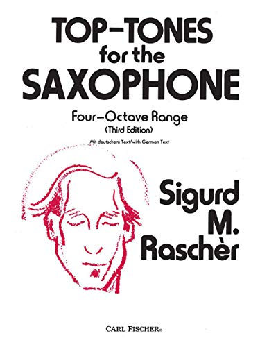9780825826429: Top-Tones for the Saxophone: Four-Octave Range