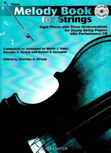 9780825827761: O5358 - Melody Book for Strings - Viola w/CD