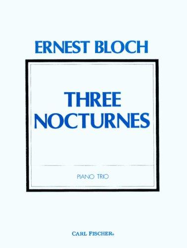 9780825828027: O1319 - Three Nocturnes - Piano Trio (German Edition)