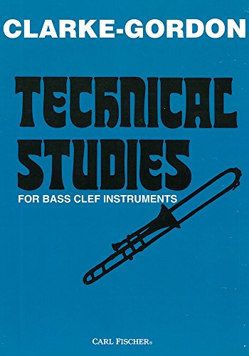 9780825828898: O4968 - Technical Studies for Bass Clef Instruments