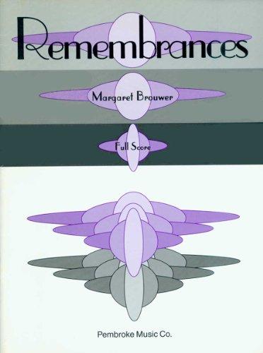9780825831157: Remembrances (Full Score)
