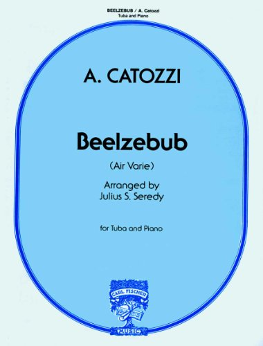 9780825831607: Beelzebub (Air Varie) for Tuba and Piano