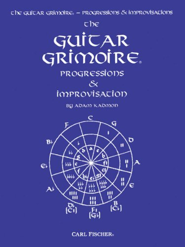 9780825831973: The Guitar Grimoire Progressions & Improvisation