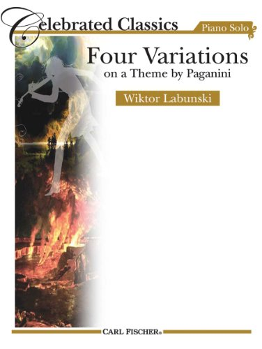 9780825832260: Four Variations on a Theme by Paganini