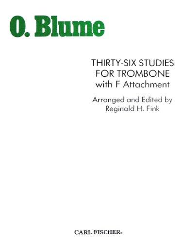 9780825832314: O4259 - Thirty-Six Studies for Trombone