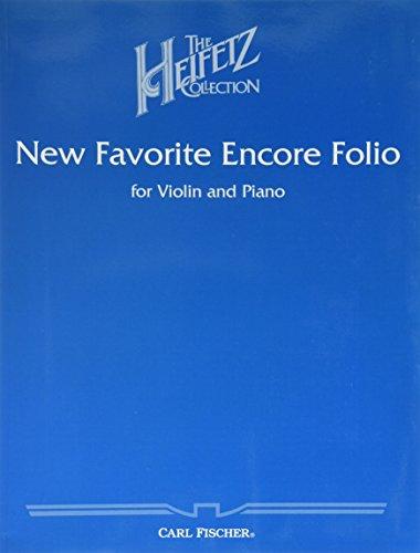 9780825833083: New Favorite Encore Folio for Violin and Piano