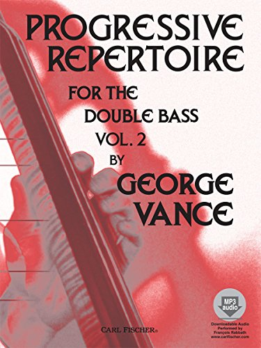 9780825833304: VANCE - Progressive Repertoire Vol.2 para Contrabajo (Inc.CD)