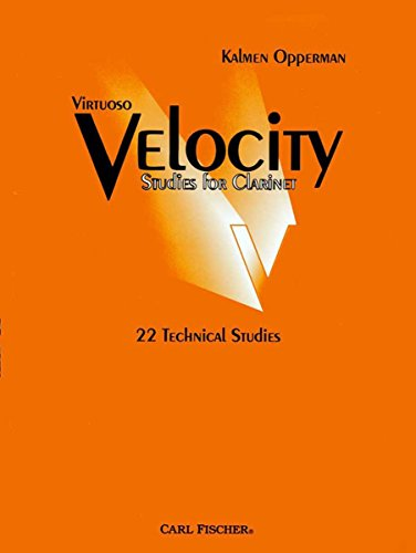 9780825833328: Velocity Studies for Clarinet