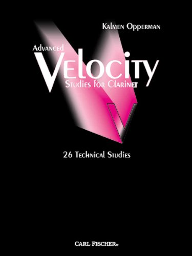 9780825833359: O5434 - Advanced Velocity Studies for Clarinet