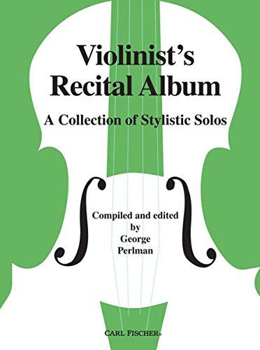 9780825834226: Violinist's Recital Album