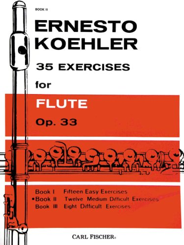9780825835001: 35 Exercises for Flute Op.33, Book 2