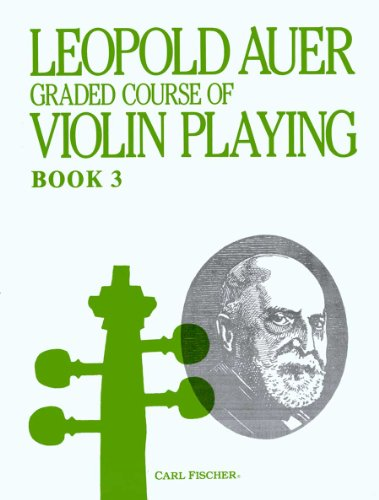 9780825835100: Graded Course of Violin Playing Book 3-Elementary Grade