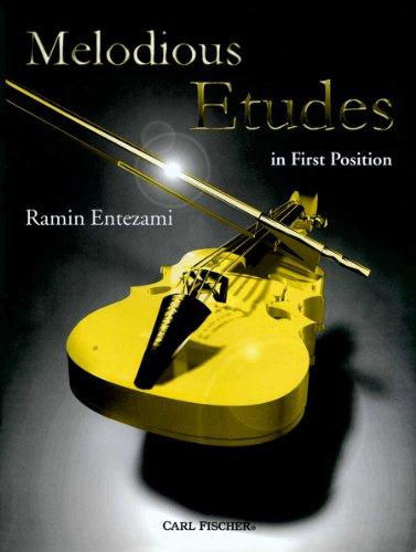 O5448 - Melodious Etudes in First Position: Ramin Entezami