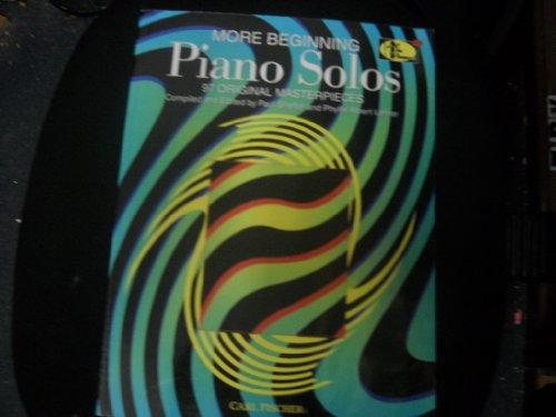 More Beginning Piano Solos: Paul Sheftel and Phyllis Alpert Lehrer