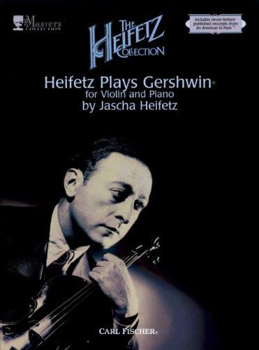 9780825841781: ATF134 - Heifetz Plays Gershwin for Violin and Piano - Volume 2