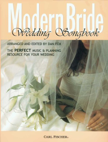 Modern Bride Wedding Songbook - Piano, Voice,: Richard Wagner, Alfred