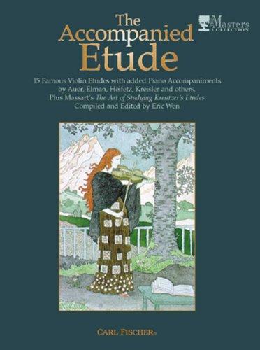 9780825847080: Accompanied Etude Wen Violin Piano