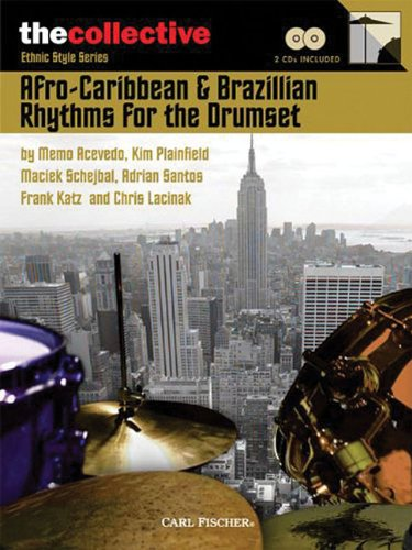 9780825849039: Afro-Caribbean & Brazilian Rhythms for the Drums