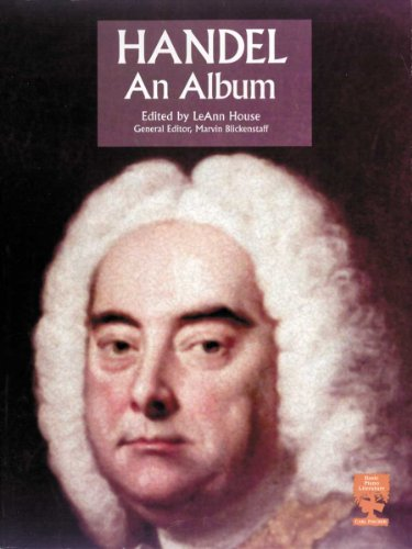 Handel: An Album: LeAnn House