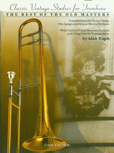 Classic Vintage Studies for Trombone: SIMONE MANTIA, ERNEST