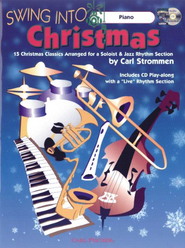 9780825853159: ATJ324 - Swing Into Christmas - Piano - BK/CD
