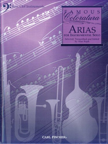 9780825853470: WF25 - Famous Coloratura Arias for Bass Clef Instruments